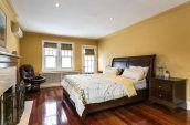 white-and-yellow comforter set