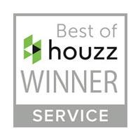 best of Houzz winner sign