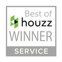 best of Houzz winner sign