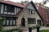 grey stone house